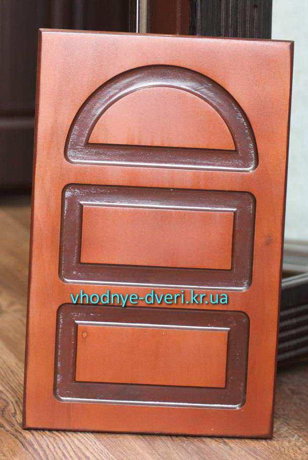 Фото накладки из фанеры на двери ДверьПром Украина