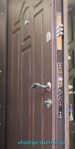 Входная дверь Премиум с замками и МДФ накладкой