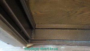 Фото дверной коробки трёхконтурной двери