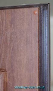 Полотно входной двери Медиум с накладкой МДФ толщиной 8 мм