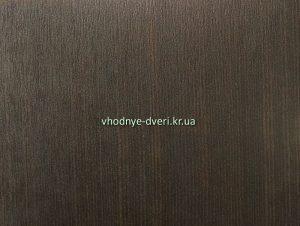 Цвет накладки на дверь Венге тёмный горизонт