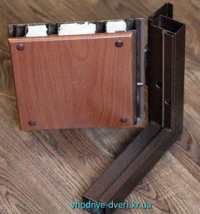 Образец входной двери Стандарт от производителя ДверьПром