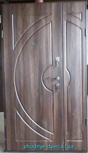 Входные двухстворчатые двери Стандарт от компании ДверьПром