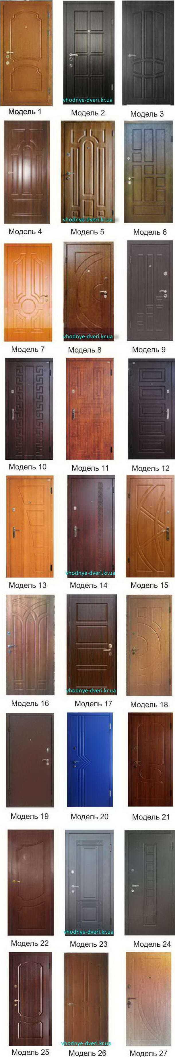 Фото накладок на двери ДверьПром